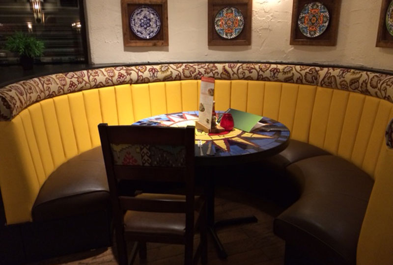 AJ Cook and Son Upholstery Portfolio Chiquito Salford
