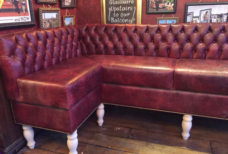 AJ Cook and Son Upholstery Portfolio Punch Taverns Coventry