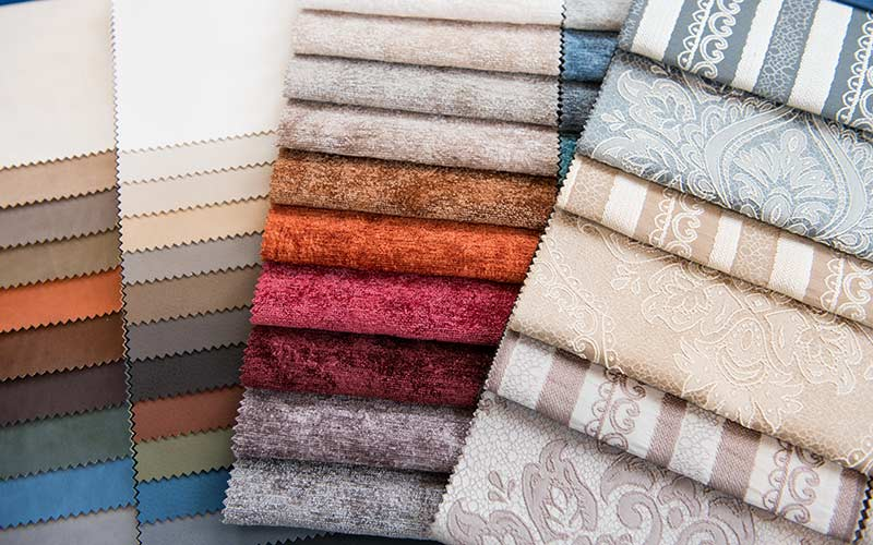 AJ Cook and Son Upholstery Materials Fabric Swatches