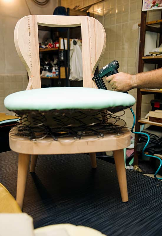 AJ Cook and Son Upholstery Re-upholstery Repair